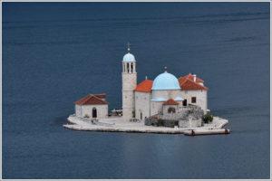 Остров Богородицы в Черногории