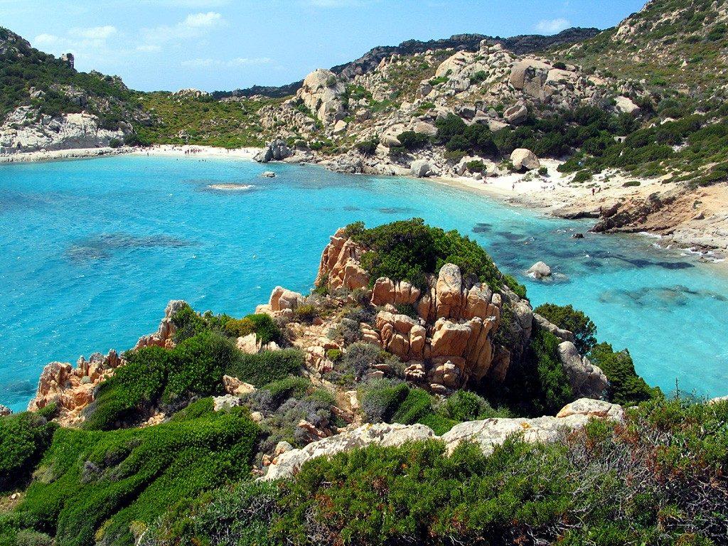 остров капрера сардиния италия