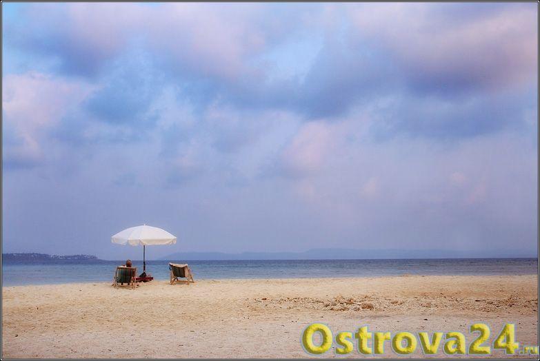 Пляжи Ко-Мака чистые и комфортные