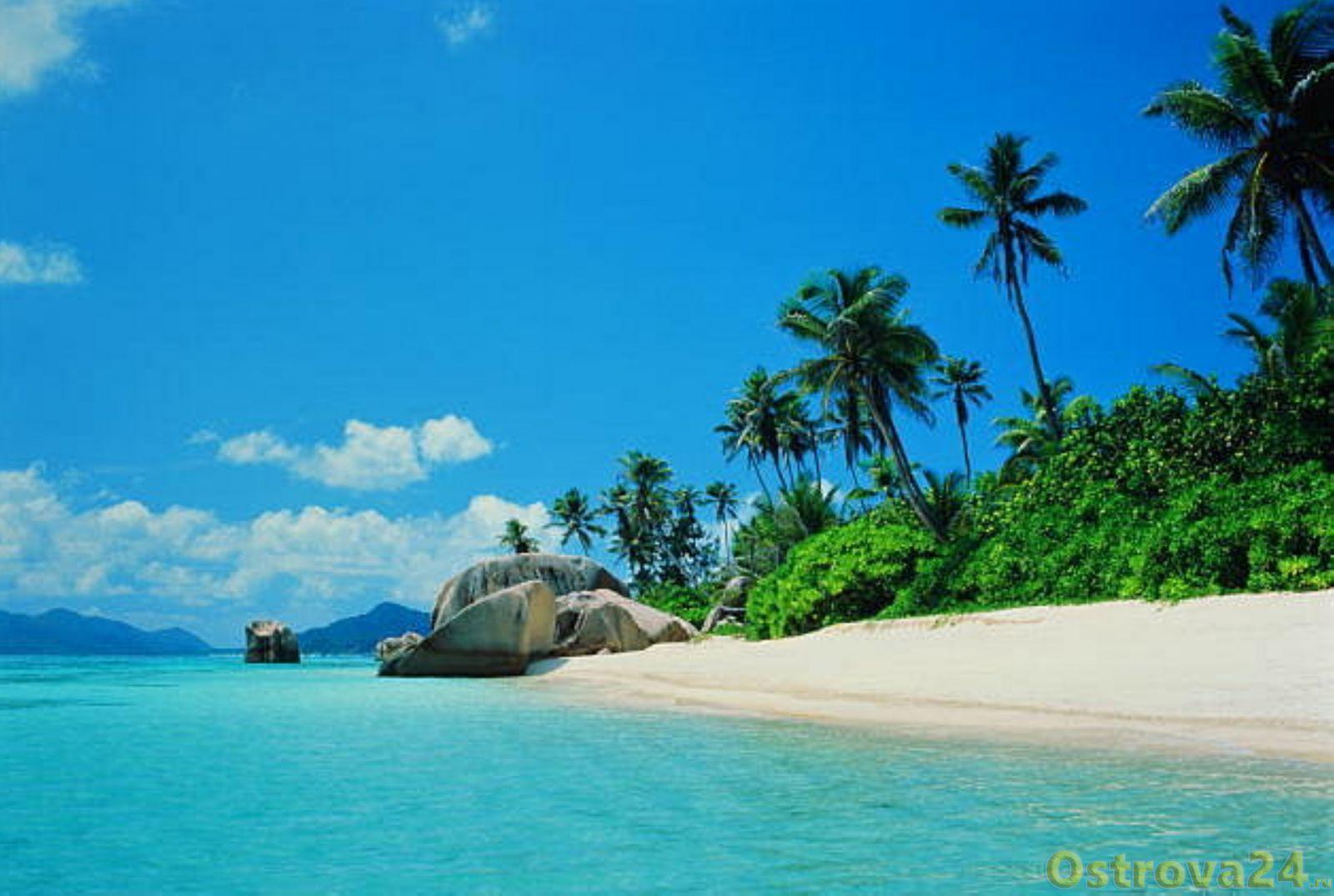 Райская природа Сейшельских островов
