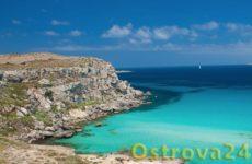 Романтичный остров Фавиньяна в Италии