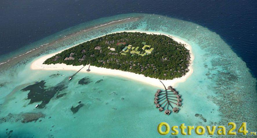 Остров В. Анабра – белоснежный песок и бирюзовая вода