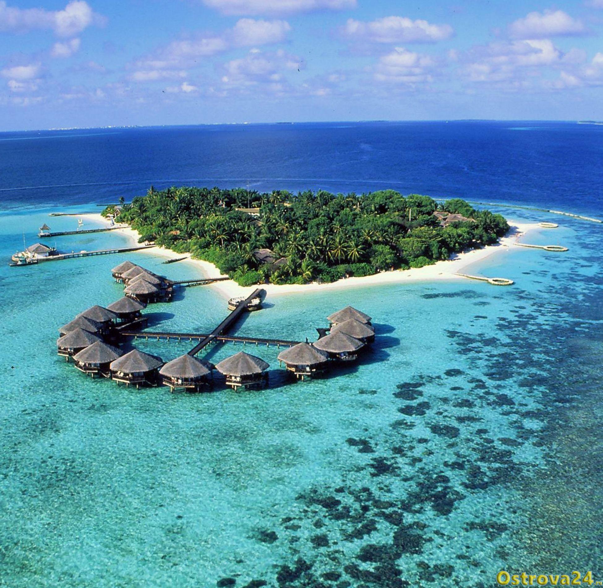 Мальдивы – самая низко расположенная над уровнем моря страна