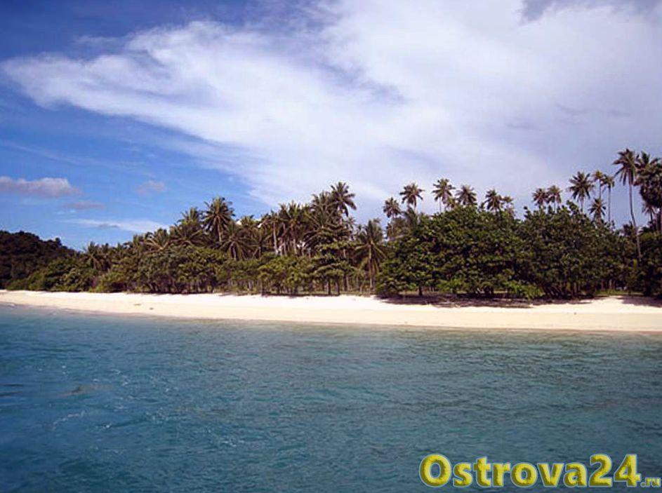 Остров Рангъяи в Таиланде