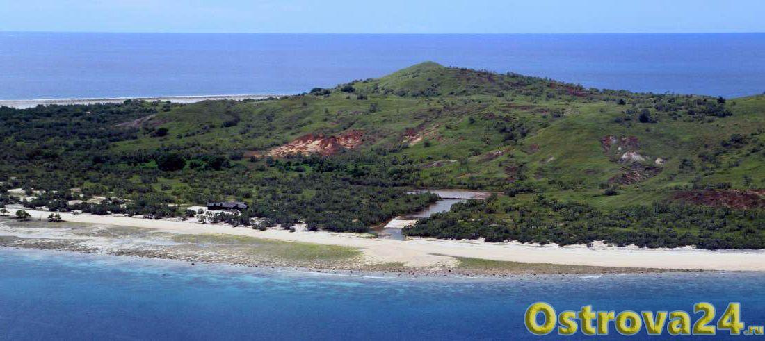 Остров Валиха близ Мадагаскара