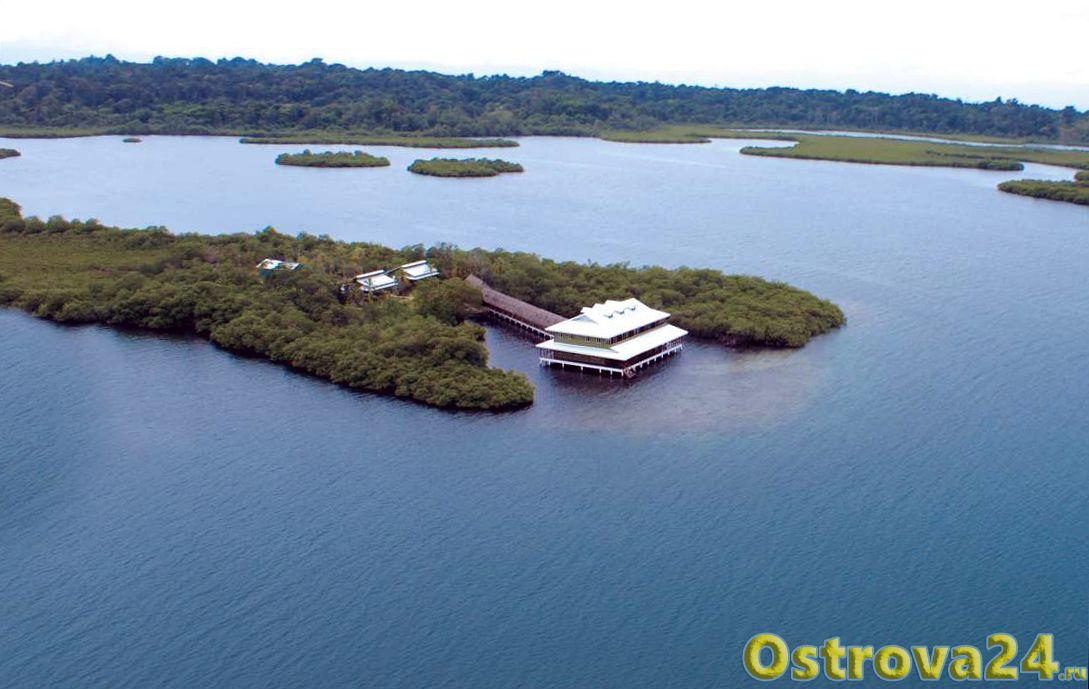 Остров в Панаме