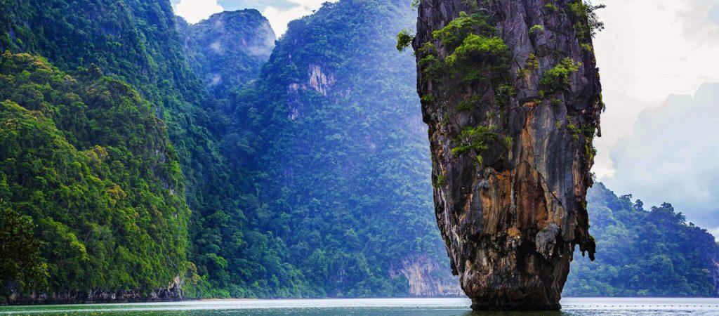 Остров Тапу (Таиланд) — культовый остров Бонда