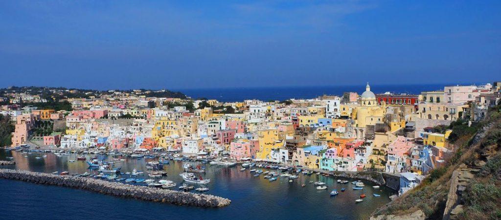 Остров Прочида в Италии