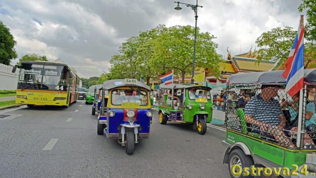 Как выглядит тук тук в Тайланде